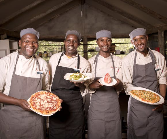 Food is always served with a smile, Encounter Mara.
