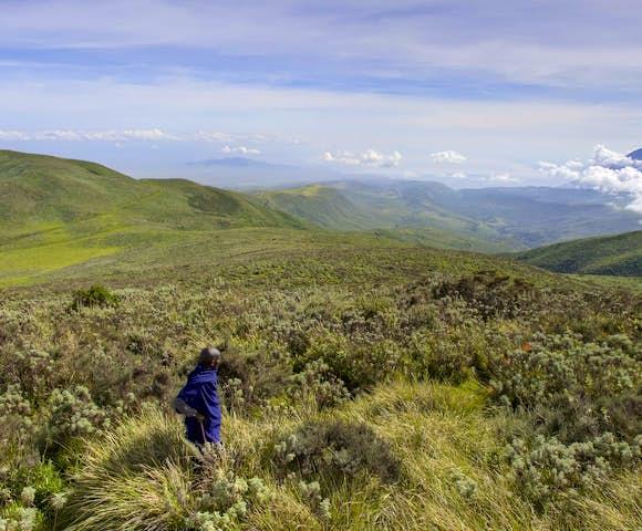 Countryside views at Ngorongoro Conservation Area, Tanzania